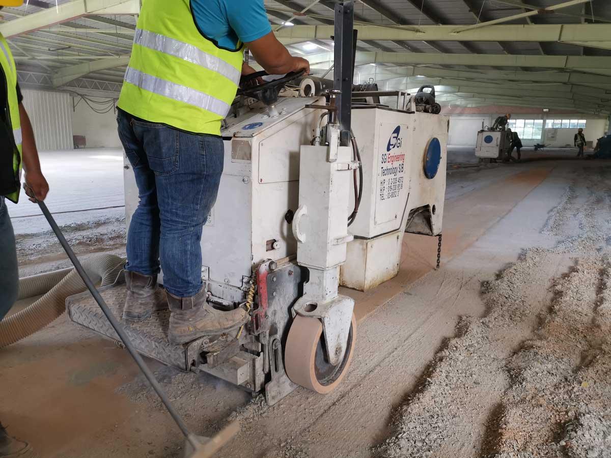 Betamex Factory, Rawang | SGI Engineering Technology | leading surface preparation, rectification and refurbishment specialist