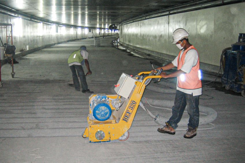 Smart Tunnel | SGI Engineering Technology | leading surface preparation, rectification and refurbishment specialist
