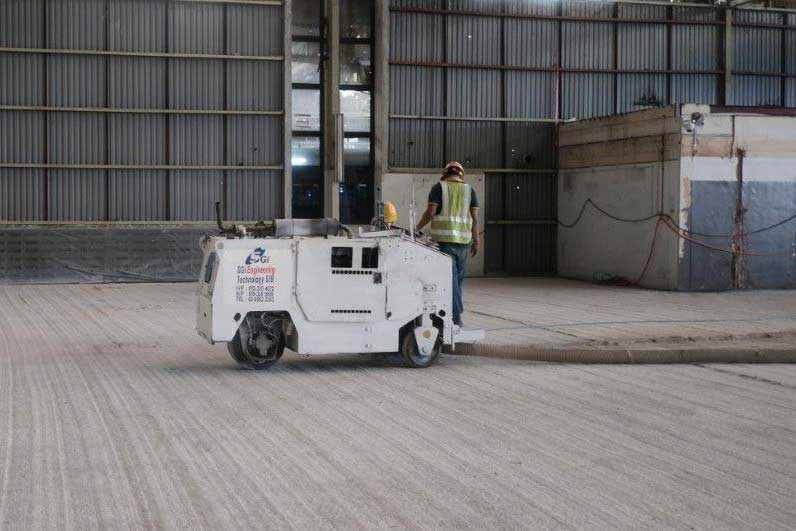 Concrete Parana Milling | SGI Engineering Technology | leading surface preparation, rectification and refurbishment specialist