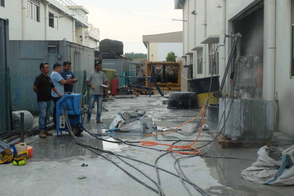 Refurbishment & Reinstatement Works   SGI Engineering Technology   leading surface preparation, rectification and refurbishment specialist