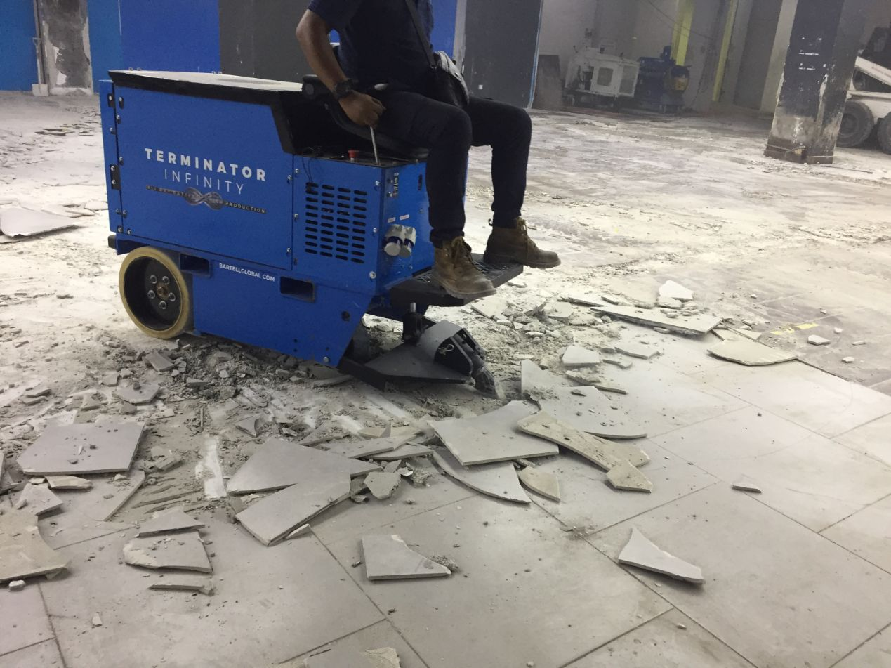 Floor Coverings Parana Tile Scraper   SGI Engineering Technology   leading surface preparation, rectification and refurbishment specialist
