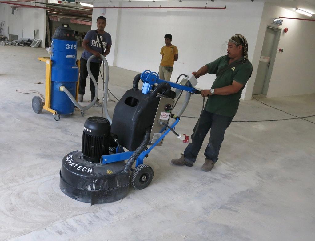 Diamond Grinding | SGI Engineering Technology | leading surface preparation, rectification and refurbishment specialist